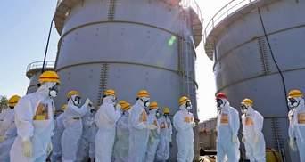 """Из """"Фукусима-1"""" радиоактивная вода вылилась за пределы защитной дамбы"""