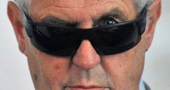 Чеський президент попрощався із губернатором Донеччини жартом про Талібан