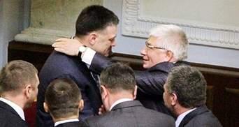 Фото дня: Чечетов расцеловал Тягнибока