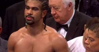 Девід Хей вдруге прощається з боксом