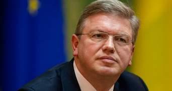 Фюле уехал из Киева: результаты визита обнародуют вечером