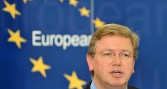 Брюссель не получил от Киева официального заявления о паузе в ассоциации, — Фюле