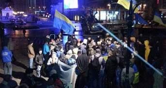 Евромайдан. КГГА обещает митингующим пункты обогрева и биотуалеты