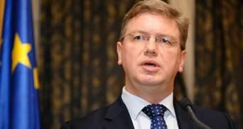 ЕС будет сотрудничать с Украиной, даже если не подпишут Соглашение об ассоциации, - Фюле