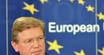 Фюле хоче безвізового режиму з Україною