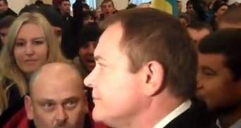 """В КГГА Колесниченко освистали и кричали """"Позор!"""" (Видео)"""