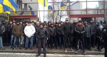 """""""Титушкы"""" не блокировали Представительство ЕС, а протестовали, - МВД"""