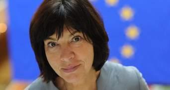 ЄС не заморожував Угоду з Україною, - Ребека Хармс