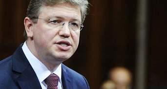 Фюле пояснив, чому Єврокомісія призупиняла переговори з Україною