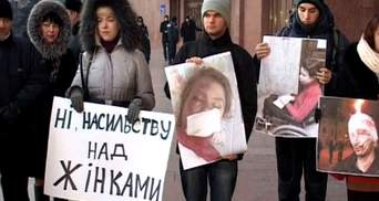 В Ивано-Франковске устроили молчаливый протест в поддержку Чорновол