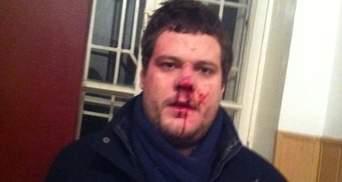 В Киеве избили свободовца Ильенко (Фото)
