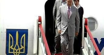 Офіційні візити Януковича у 2013 році