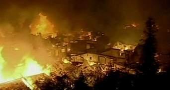 В популярном тибетском городе сгорели более 100 древних зданий