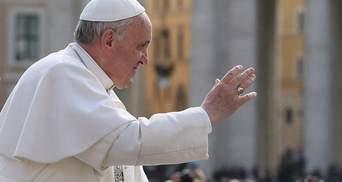 Папа Франциск молиться за український народ