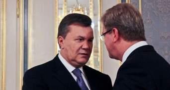 В Фюле осталось один вопрос к Януковичу