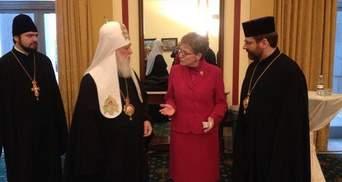 На молитовний сніданок з Обамою прибули патріархи Філарет і Святослав