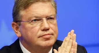 Про дострокові вибори президента України мова не йде, — Фюле