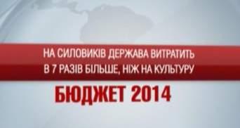 Бюджет-2014: На силовиков государство потратит в 7 раз больше, чем на культуру