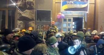 Активисты будут дежурить под КГГА всю ночь, потому что не верят власти (Видео)