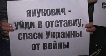 У Луганську активісти провели мітинг, аби вшанували загиблих під час штурмів