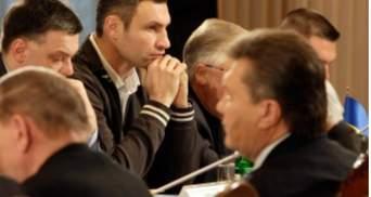 Лидеры оппозиции пошли к Януковичу