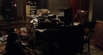 Будинок Симоненка у вогні (Фото)