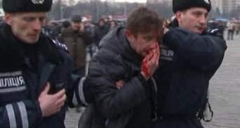Били битами сзади по голове, - Жадан рассказал о стычке в Харьковской ОГА