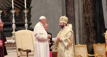 Глава УГКЦ поговорить з Папою Римським про ситуацію в Україні