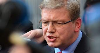 Фюле предлагает принять Украину в ЕС