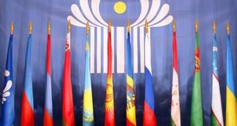 Украина начала процедуру выхода из СНГ