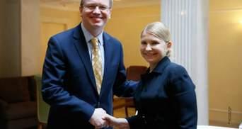 Тимошенко обговорила з Фюле ситуацію в Україні (Фото)