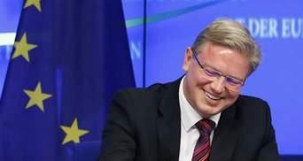ЄС прискорить введення спрощеного візового режиму з Україною, — Фюле