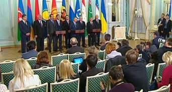 Сьогодні глави МЗС країн СНД без Дещиці обговорять ситуацію в Україні