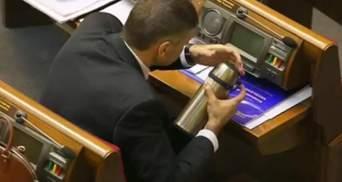 Депутатам не вистачає часу на обідню перерву (Відео)