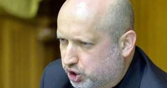 """Турчинов розповів, скільки виборців вчора проголосувало на """"референдумі"""""""