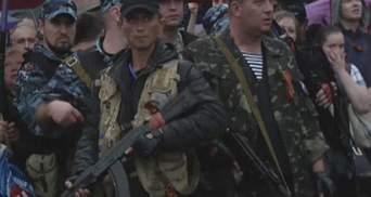 """Луганські сепаратисти святкують """"незалежність"""" (Відео)"""