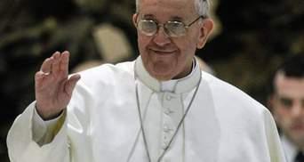Папа Римський прибув до Вифлеєму