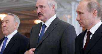 Лідери Росії, Білорусі та Казахстану підпишуть договір про Євразійський союз