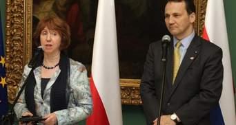 Польша предлагает Сикорского в качестве преемника Эштон