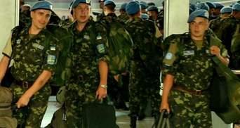 250 миротворців, які щойно повернулись з Конго, поїдуть на схід України
