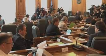На этой неделе парламентские комитеты рассмотрят избирательные законопроекты