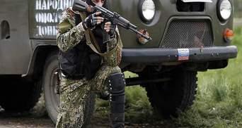 На Донбассе террористы расстреляли машину мирных граждан