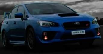 Спортивний седан Subaru тепер в Україні