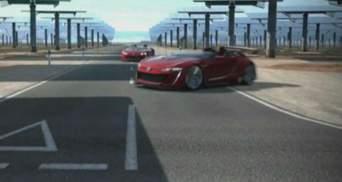 Компанія Volkswagen представила футуристичний суперкар GTI Roadster