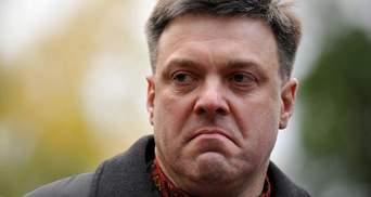 Участь Віктора Медведчука у переговорах з терористами має розслідувати ГПУ, — Тягнибок