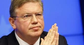 Украина должна показать, насколько она предана европейским стремлениям, — Фюле