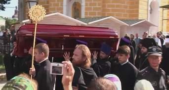 У Києві сьогодні ховають митрополита Володимира
