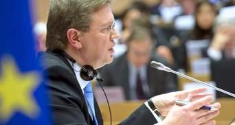 Евросоюз готовит безвизовый режим для украинцев, — Фюле
