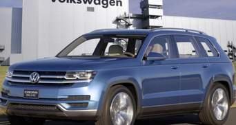 Volkswagen сконструює абсолютно новий семимісний кросовер