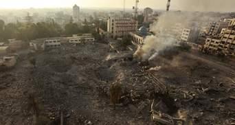 Число жертв израильских ударов по сектору Газа возросло до 204 человек